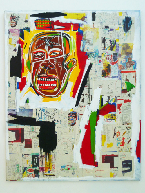 Check out my ART du Jour!! A beautiful Jean-Michel Basquiat painting at the Musée d'Art Contemporain — in Marseille, Provence-Alpes-Cote d'Azur.