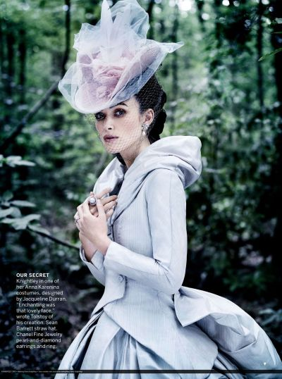 pollyspersonal:  Keira Knightley in one of her Anna Karenina costumes