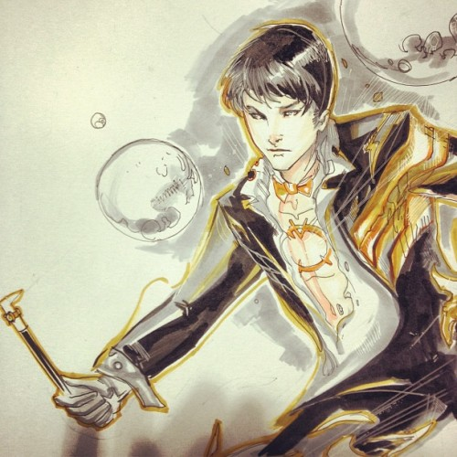 petervnguyen:  I loved this orange lantern Zachary zatara (Taken with Instagram)  I shouldn't laugh.