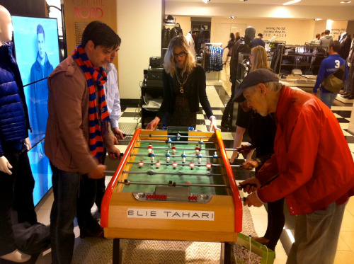 We promised foosball, and we delivered. Such a fun night at our Bloomingdale's Men's Event with Details Magazine.