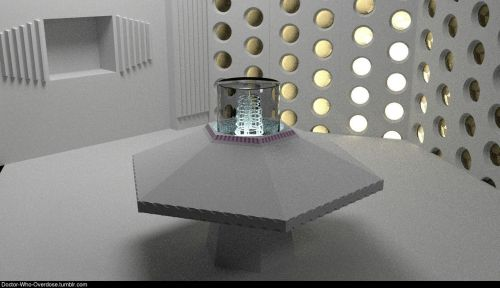 doctor-who-overdose:  Tardis low pass 3d render - work in progress Click for the best DoctorWho tumblr ever.