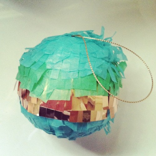 Perfect ornament for GG! Confetti System from @westelm  (Taken with Instagram)
