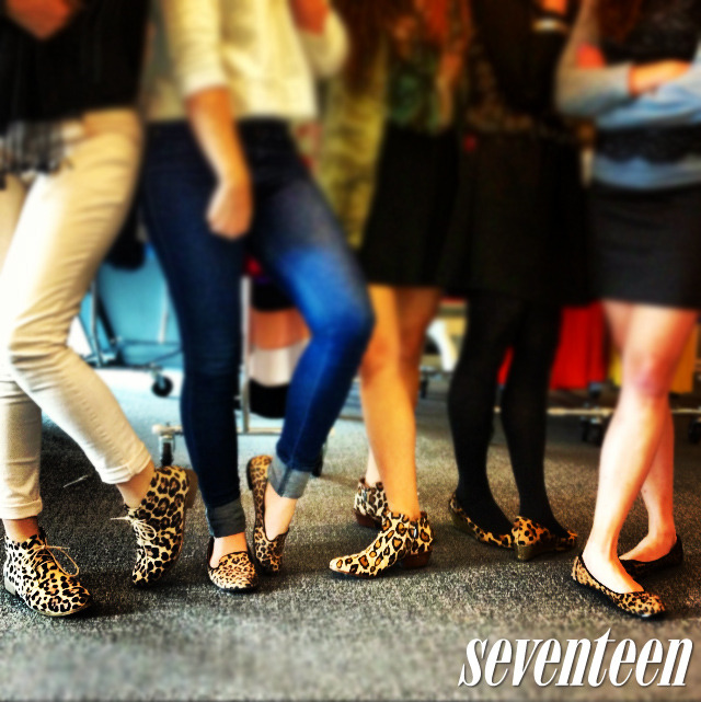 There's something wild happenin' around here. Happy #ShoesdayTuesday!