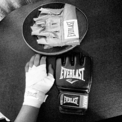 Listo el kit de #MMA #Everlast #Sport #Fight #Hand #Wraps (Tomada con Instagram)