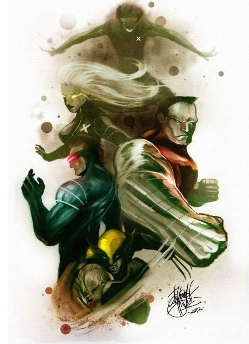 It's X-Men by Darrold Hansen
