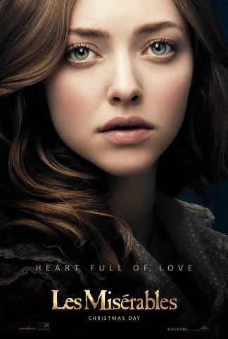 Heart Full of Love. Amanda Seyfried as Cosette in Les Misérables.