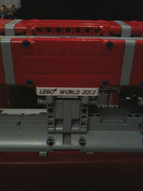 Special LEGOWORLD bricks