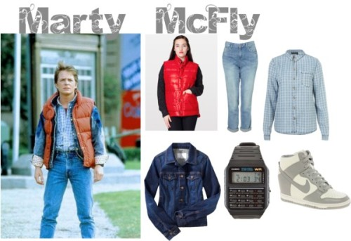 lovelyolivia:  (via Girls Can Do Anything Halloween: Marty McFly Costume | The Lovely Sisters)  the Lovely Sisters know what's up.