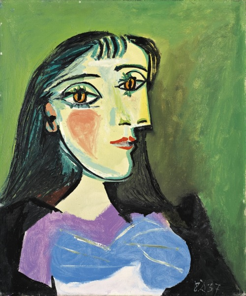 christiesauctions:  Pablo Picasso (1881-1973)Buste de femme Impressionist and Modern Art Evening Sale