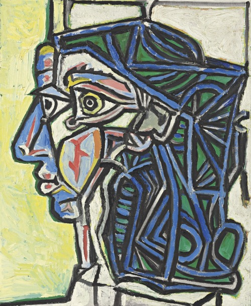 christiesauctions:  Pablo Picasso (1881-1973)Tête de femme Impressionist and Modern Art Evening Sale