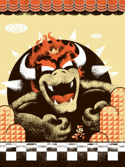 xombiedirge:  Super Mario 3 by Michael Weinstein