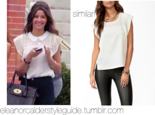 Untitled #580 by ieleanorcalderstyle featuring forever 21 topsForever 21  top
