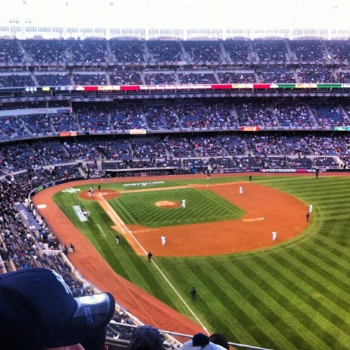 Playoff baseball (Taken with Instagram)