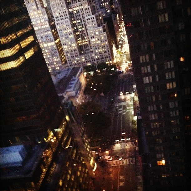 #friday night in #nyc #newyork  (Taken with Instagram at 5th Ave)