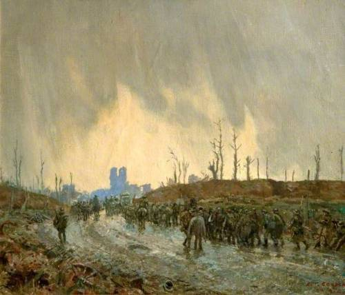 Menin Gate, Ypres, Belgium, First World War - Richard Tennant Cooper