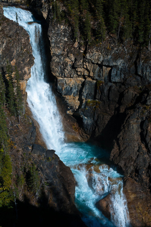 Falls of the Pool, Mt Robson Provincial Park, British Columbia.