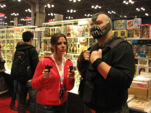 Oh, I look a wee bit silly… but this guy was a GLORIOUS BANE!!!