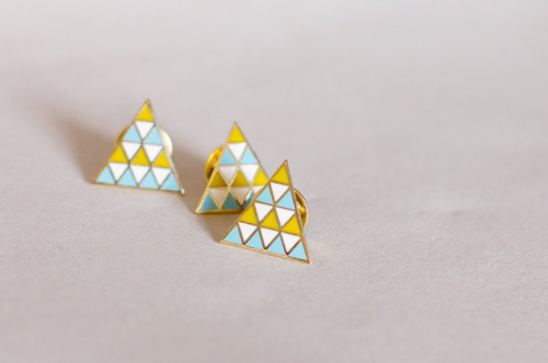 geometric brooch finestimaginary etsy england united kingdom