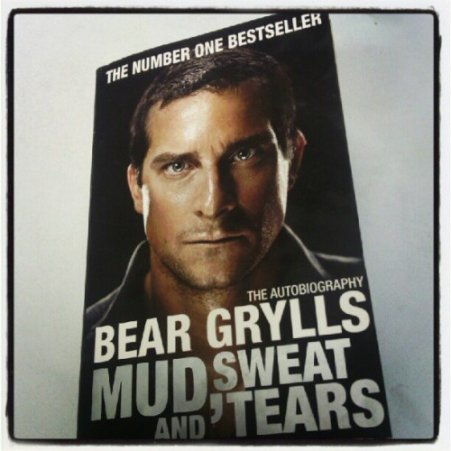 Just started this, already hooked. Bear grylls = Hero/legend #beargrylls #hero #legend #book #bookstagram #bookclub #awesome #awestagram #betterdrinkmyownurine #man #dude #hesfromheresoheis  (Taken with Instagram at Bangor)