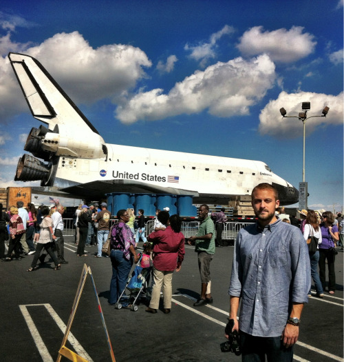 Stopped by to see Endeavor today
