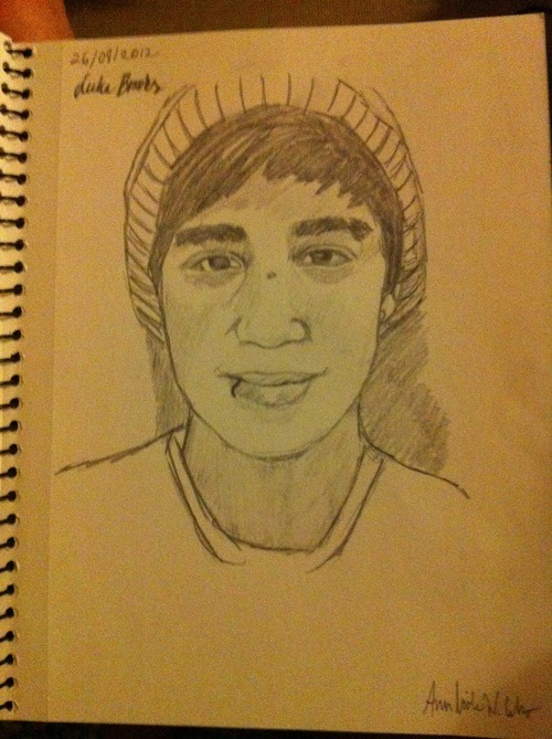 daretodreamthenmakeithappen:  Hihi I drew the Brooks brothers, and If they ever see this I LOVE YOU GUYS! Thank you for making me smile along with the rest of the guys. I know you guys are clearly aware, but you do make our day <3  Reblog, like? help me out guys? I really want them to see this hihi thank you xx Ps; I am clearly aware that I´ve posted this before but my friend tipped me, so I posted it as a picture post instead. Lol.