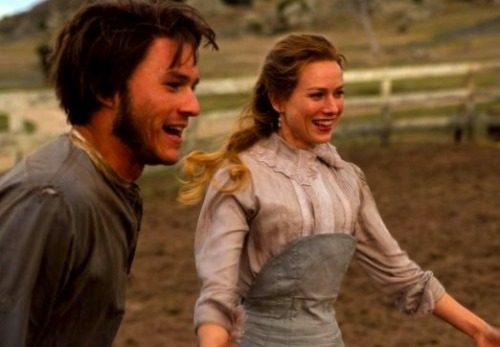 Heath Ledger and Naomi Watts in Ned Kelly (2004).