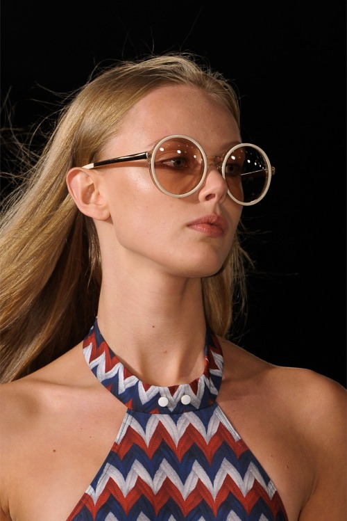 Frida Gustavsson at Tommy Hilfiger SS13 fashion show