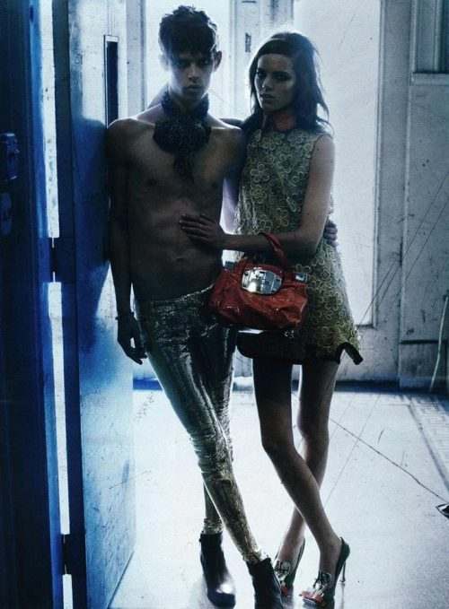 Freja Beha Erichsen & Dan Kling for Interview Magazine | Ph.: Craig McDean