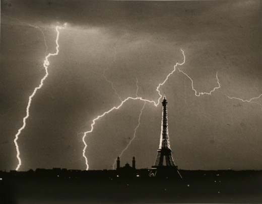 Lightning Strike, Paris. Date unknown. (via)