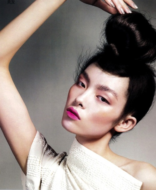 Fei Fei Sun shot by Jem Mitchell for Vogue China June 2010