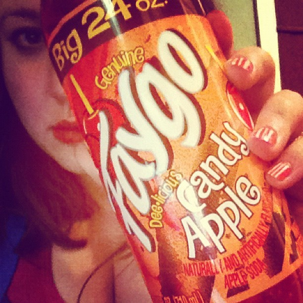 #candyapple #faygo is the tits (Taken with Instagram)