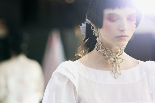 Chanel cruise 2013 backstage