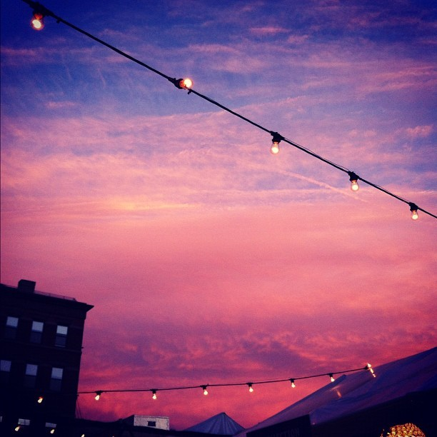 #Lightbulbs and #vanillasky 2.  #nyc  (Taken with Instagram)
