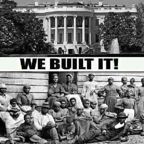 #Fact out of 600 people, 400 people were African-American slaves that built the White House! #BlackHistory (Taken with Instagram)