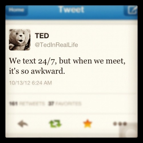 Damn true, Ted! ☺☺☺ #ted #quotes #twitter (Taken with Instagram)
