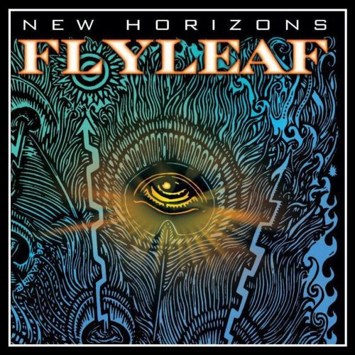 "I'd read some of your feedbacks regarding the new Flyleaf artwork. I respect it, but please give a chance to explain their side by read this. Thanks! CLARIFICATION ON THE NEW FLYLEAF ART OF NEW HORIZONS:  ""I had always found the single disembodied eye compelling and deemed it adequate as a symbol to express the vision of renewed consciousness acquired in spiritual rebirth. Though it may resemble the fabled and ubiquitous ""All Seeing Eye"" found on the dollar bill, the eye on New Horizons holds similarity to it only in very general design and does not serve the same purpose or house whichever meanings may have imposed upon it by various groups over the centuries. My eye, at the crest of a feather, is intended to be a sort of reflection of your own eye, as you look at it. I mean it to mirror the persons looking at the art, and the next horizon that they may be presently witnessing their own lives or selves. ""There are many eyes strewn throughout the rest of the album design, all intended to represent reborn vital consciousness and the renewed awareness of God's presence in each new horizon in our lives, should we choose to see it."" - Pat Seals of Flyleaf  See, the eye is not the ""all-seeing eye"" used to be refer as Illuminati. Don't even dare to think that Flyleaf will became an Illuminati puppet. NEW HORIZONS (October 30) Genre:white metal,post-grunge,alternative metal,alternative rock Track Listing: Fire Fire New Horizons Call You Out Cage On The Ground Great Love Bury Your Heart Freedom Saving Grace Stand Green Heart Broken Wings Bonus/Deluxe tracks - to be announced. Hoping everyone was relieved. :) God Bless! Source: http://www.revolvermag.com/news/exclusive-flyleaf-stream-new-single-call-you-out-and-reveal-cover-art-track-listing-for-new-horizons.html"