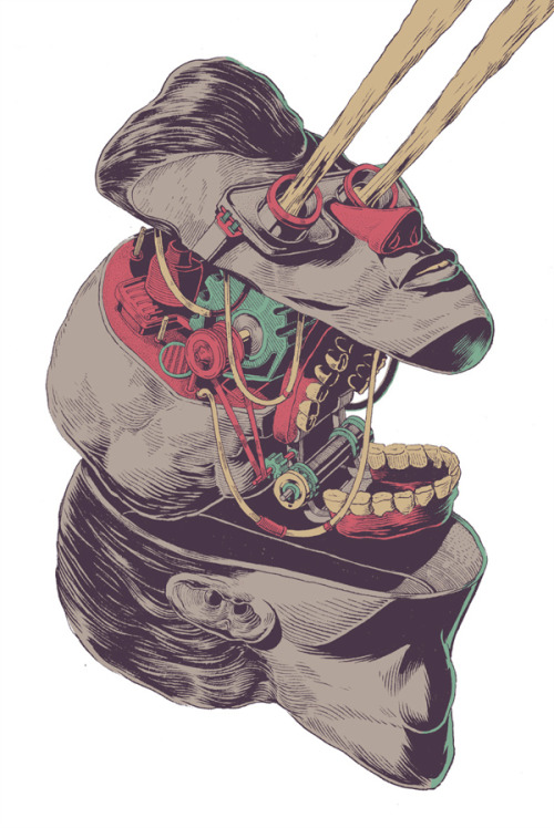 inspiring-illustration:  Tony Delfino