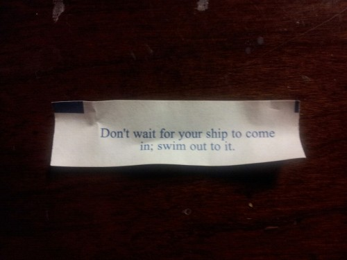 ghostgirlhunter:  To all you fandoms out there, this was my fortune today