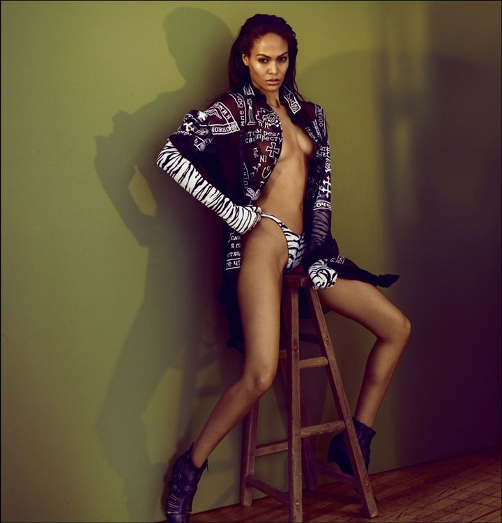 pussylequeer:  Joan Smalls photographed by Seng & Seng for 032c Magazine, Fall/Winter 2012