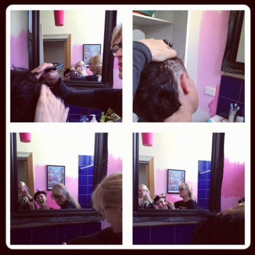@frametastic I'm surprised anyone would let my mum touch their hair. 😳 (Taken with Instagram)