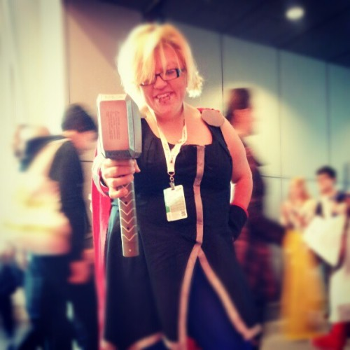 #ladythor #thor #cosplay #comiccon #NYCC  (Taken with Instagram)