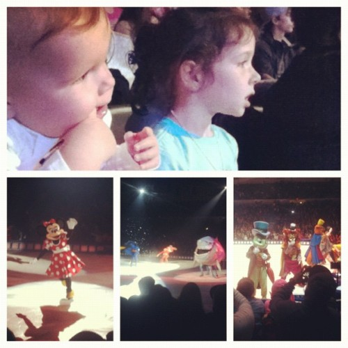 #disneyonice (Taken with Instagram)