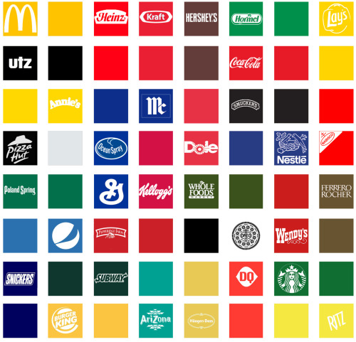 food brands color wheel