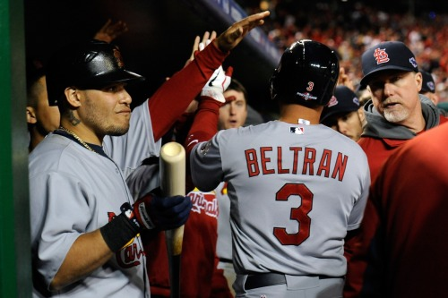 Cardinals score 4 in 9th to stun Nats, return to NLCS