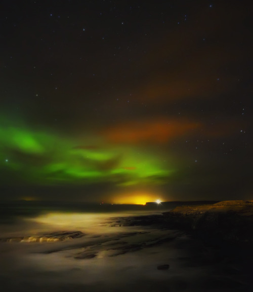 Aurora seascape 2 (by Stewart Watt)