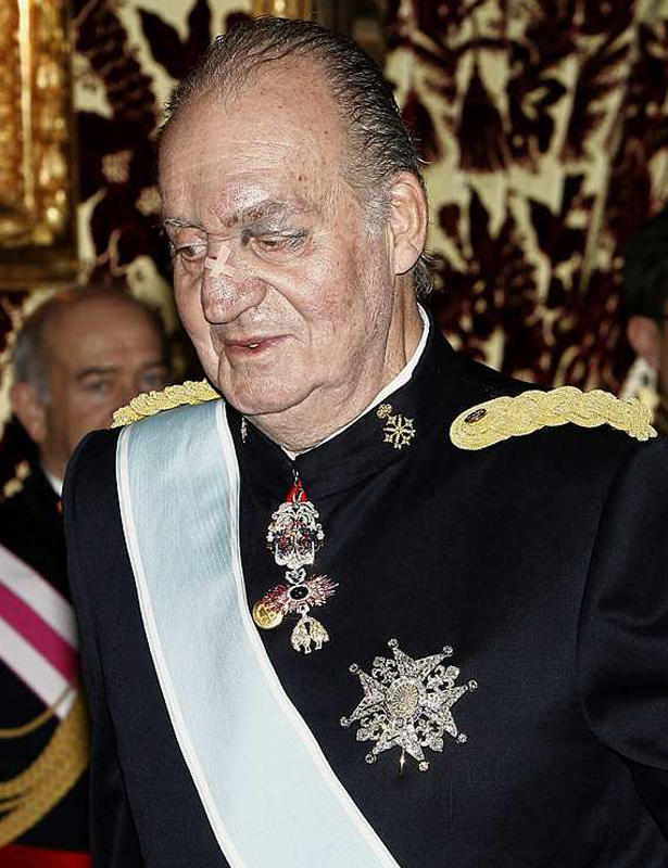 Don Jua Carlos I, king of Spain