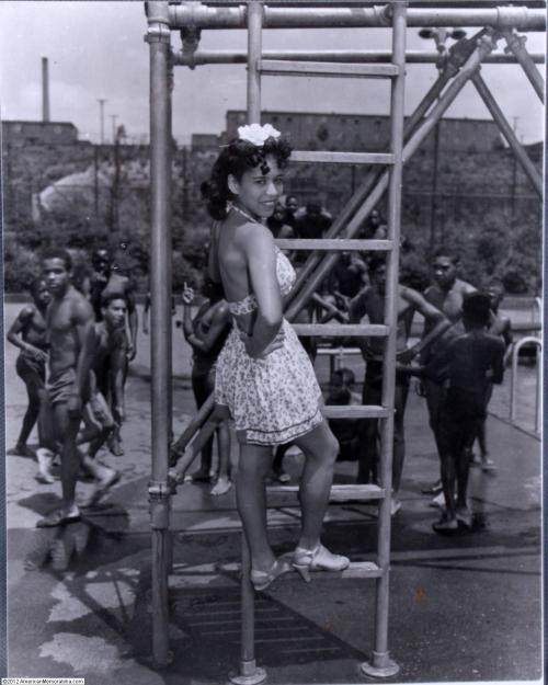 Girl on the Playground | 1950sTeenie Harris, Photographer. Pittsburgh Courier Archives