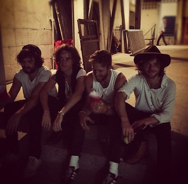 Tribes, post gig in Mexico.