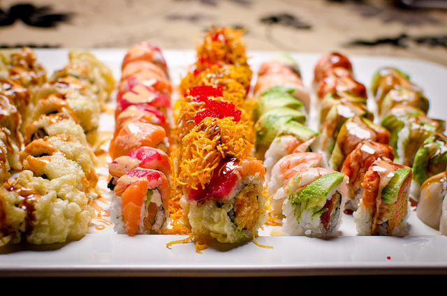 so many sushis by aubreyrose on Flickr.