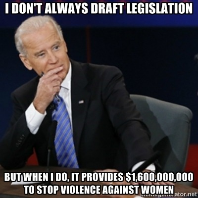 smurfettude:  somethingvaguelyinnocuous:  The Most Interesting VP In The World  YES.